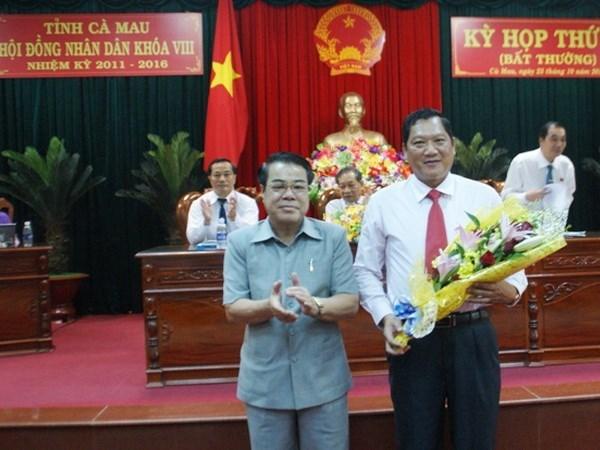 Bầu bổ sung Phó Chủ tịch Cà Mau
