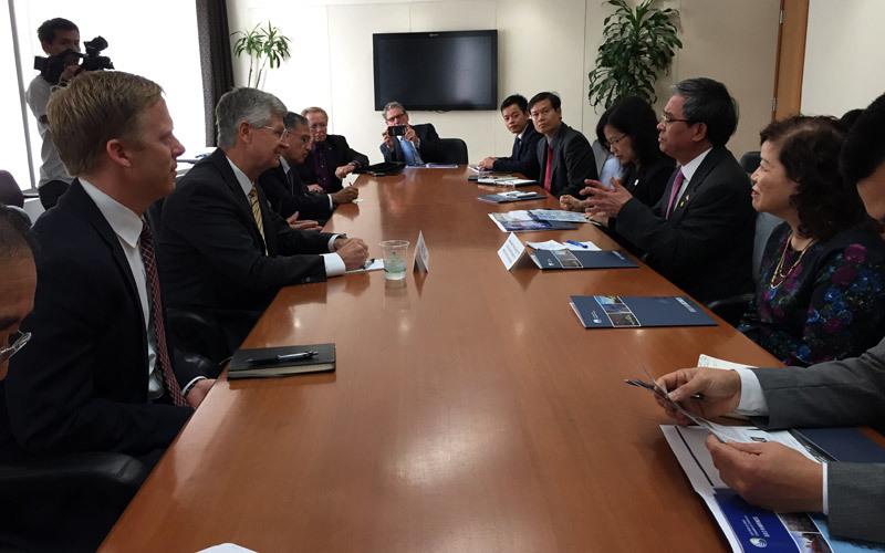 Đại sứ, Phạm Quang Vinh, Los Angeles, thươngmại, TPP