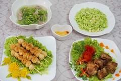Hấp dẫn với bữa cơm chiều nấu cho cả nhà