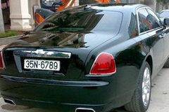 Rolls-Royce 17 tỷ đeo biển giả 35N- 6789