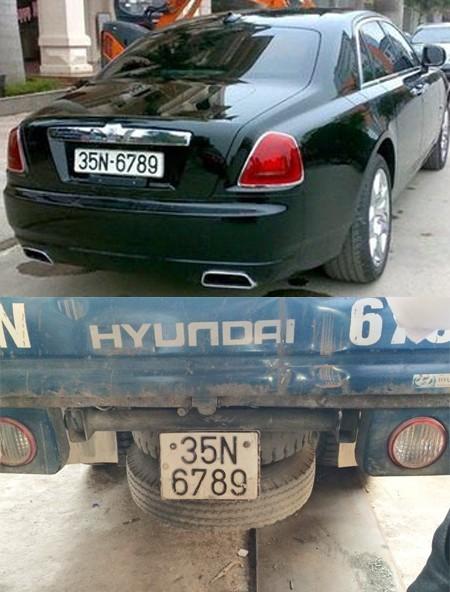 Đại gia Ninh Bình đi Rolls-Royce 17 tỷ dùng biển giả 6789