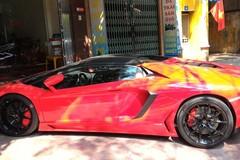 Lamborghini Aventador mui trần đầu tiên về đất Hải Phòng