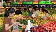 Giá tiêu dùng tháng 10 tăng nhẹ