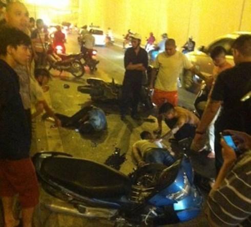 Tai nạn kinh hoàng trong hầm Kim Liên, 1 người chết