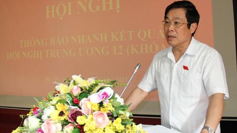 TƯ tán thành tờ trình của Bộ Chính trị về nhân sự