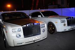 Cặp đôi Rolls-Royce Phantom mạ vàng của đại gia Thái Nguyên