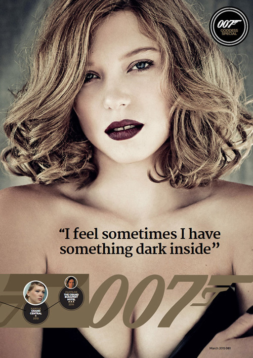 Léa Seydoux, 007, James Bond, Sprectre, vietnamnet