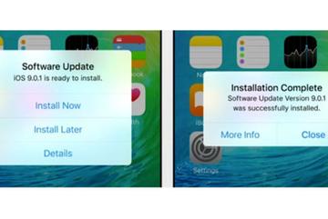 Cập nhật iOS 9.1 ban đêm khiến iPhone mất hết báo thức