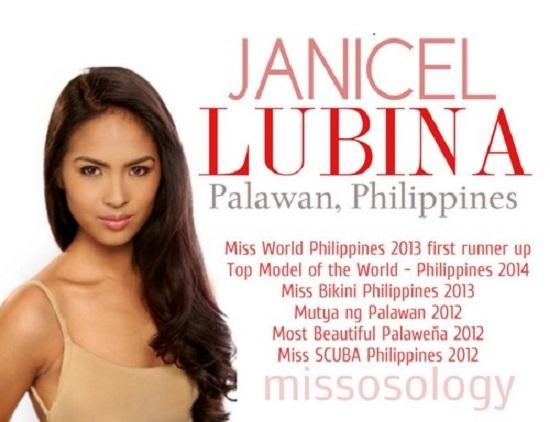 Hoa hậu Quốc Tế, Philippines, Janicel Lubina, Tạo hóa, nghị lực
