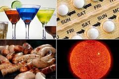 Trầu cau, rượu bia, khói thuốc đều có thể gây ung thư