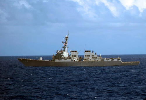 VN lên tiếng việc Mỹ đưa tàu chiến đến Biển Đông