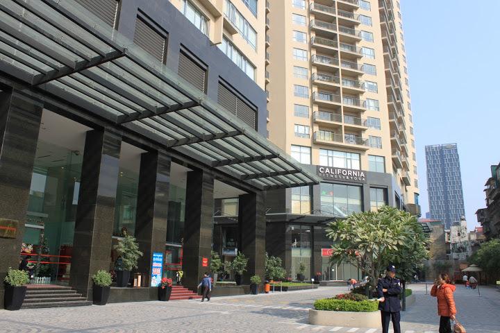 Cao ốc Sky City Hà Nội xây Penthouse sai phép