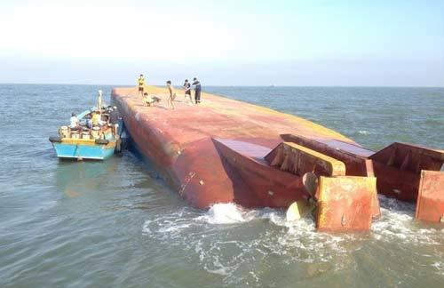 chìm tàu, Cần Giờ