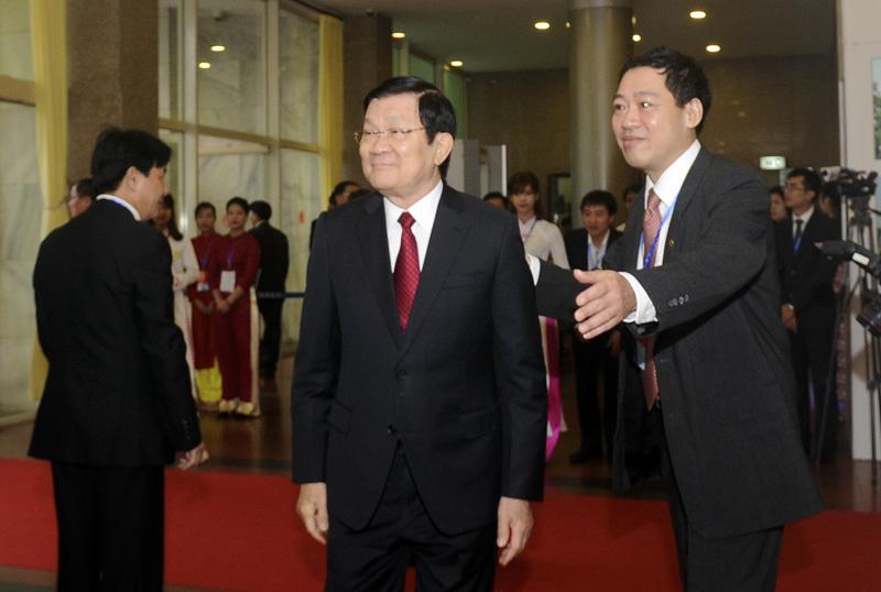 Hình ảnh lãnh đạo cấp cao dự Đại hội Đảng Hà Nội