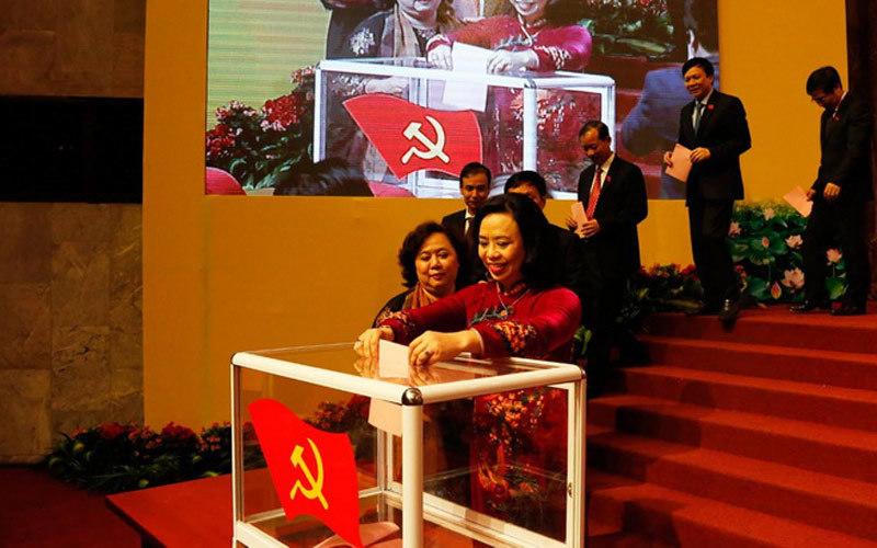 Bầu xong ban chấp hành Đảng bộ Hà Nội khóa mới