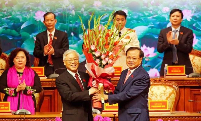 Tổng bí thư nhắc Hà Nội nâng cao năng lực lãnh đạo