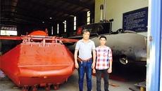 Hé lộ hình ảnh chiếc tàu ngầm Trường Sa 2 của kỹ sư Việt