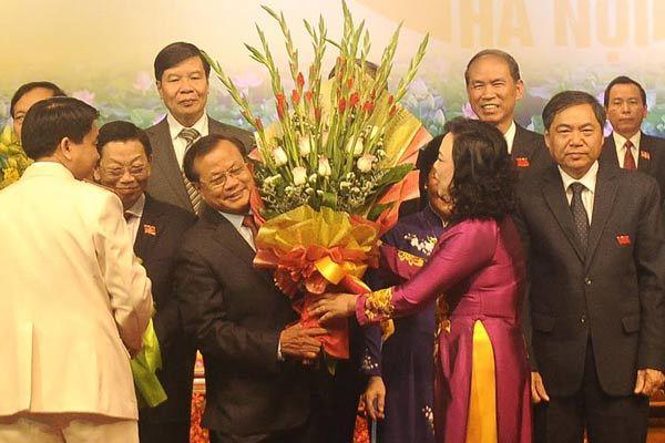 Phó bí thư HN tri ân ông Phạm Quang Nghị, Nguyễn Thế Thảo