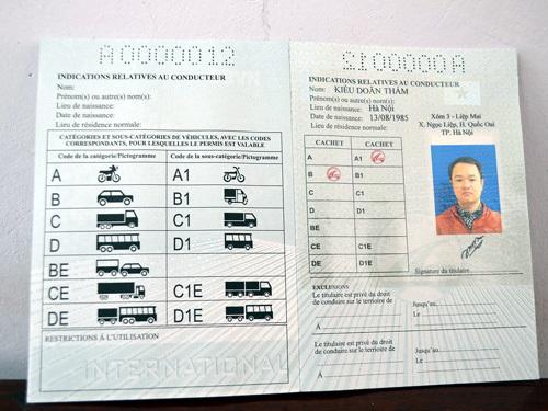 Cấp bằng lái xe quốc tế sử dụng tại 73 nước