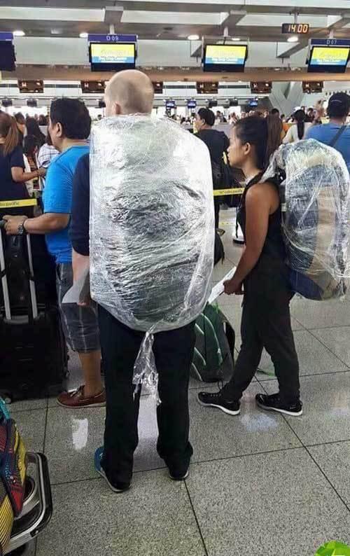 Khách Tây, balo, Việt Nam, hành lý, sân bay