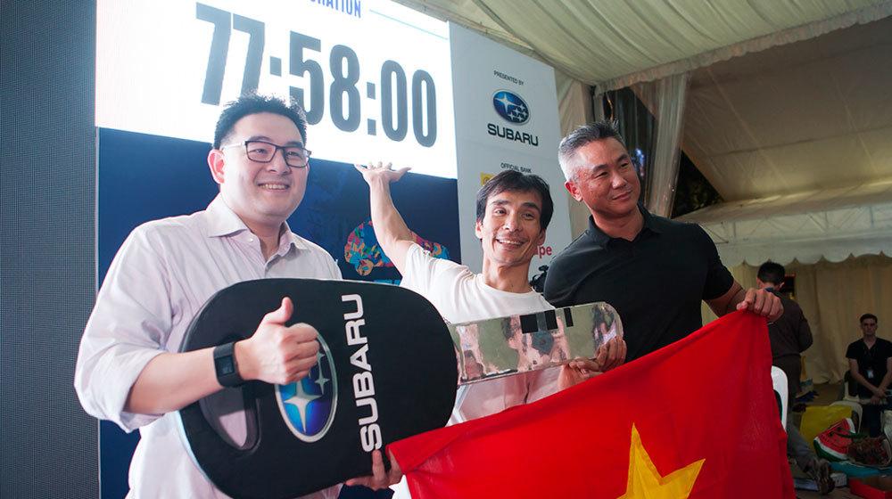 'Thi gan' 78 tiếng bên xe, người Việt 'ẵm' giải hơn 1 tỷ đồng