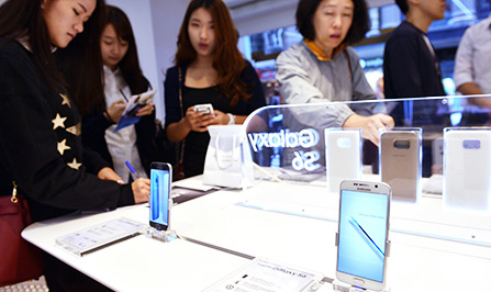 Smartphone Samsung se tuyet chung sau 5 nam nua