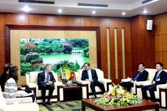 Buổi gặp đặc biệt của Bộ trưởng Nội vụ và Đại sứ Mỹ