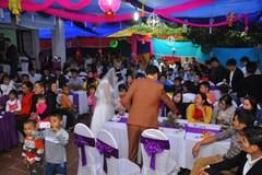 Đám cưới quê: Mua cả tấn thịt làm cỗ
