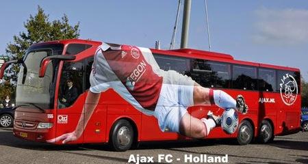 Những 'siêu buýt' của các CLB bóng đá hàng đầu châu Âu