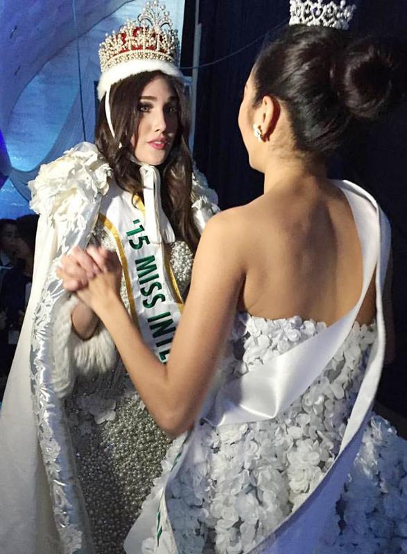 Nhan sắc Việt đoạt á hậu 3 Hoa hậu Quốc tế 2015