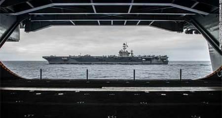 Thế giới 24h: Tàu ngầm TQ bám đuôi tàu sân bay Mỹ