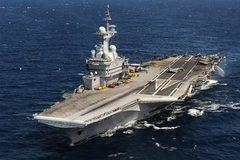 Cận cảnh tàu chiến 'khủng' Pháp cử đi diệt IS