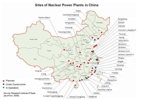 Mối đe dọa nhà máy điện hạt nhân TQ với VN?