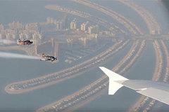 Xem người bay đua với siêu máy bay A380