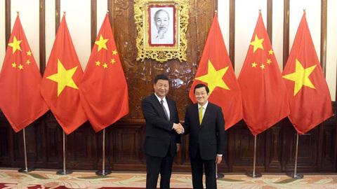 TQ, Tập Cận Bình, Chủ tịch nước, Trương Tấn Sang, Biển Đông