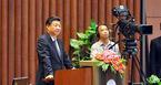 Chủ tịch TQ đọc thơ Hồ Chí Minh trước Quốc hội