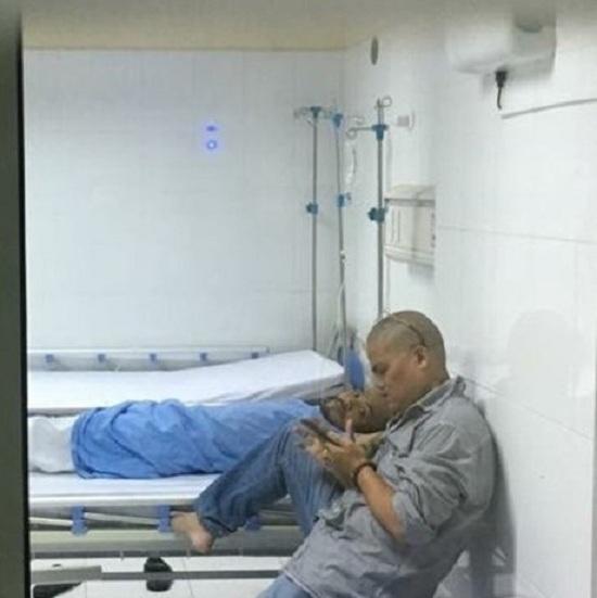 Hình ảnh đầu tiên sau ca phẫu thuật ung thư của Trần Lập
