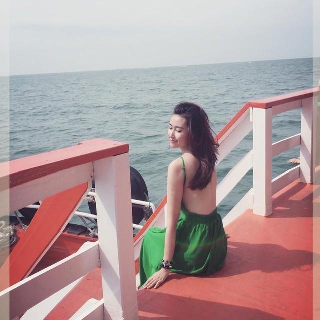 Hotgirl VTV đi du lịch Thái Lan với 150 ngàn