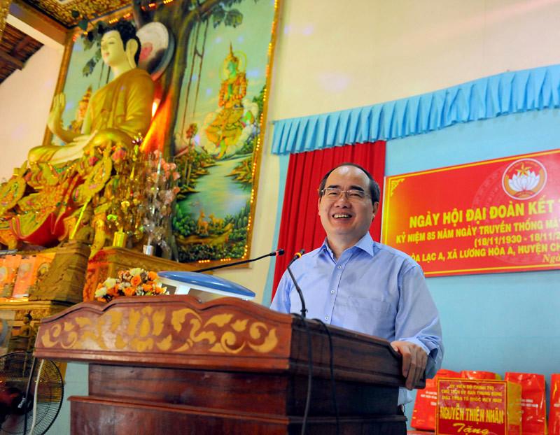 Ngày hội đặc biệt trong ngôi chùa Khmer