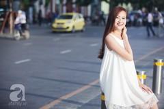 Học cách nhấn nhá set đồ đen trắng từ street style của quý cô 2 miền