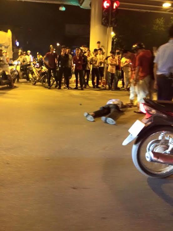 tai nạn; cầu vượt; Thái Hà