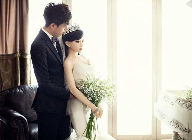 Búp bê, ung thư, Trung Quốc, ảnh cưới