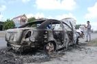 Đốt cháy ô tô vì lái xe từ chối tăng tốc
