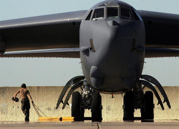 B-52, vũ khí, sức mạnh, pháo đài bay