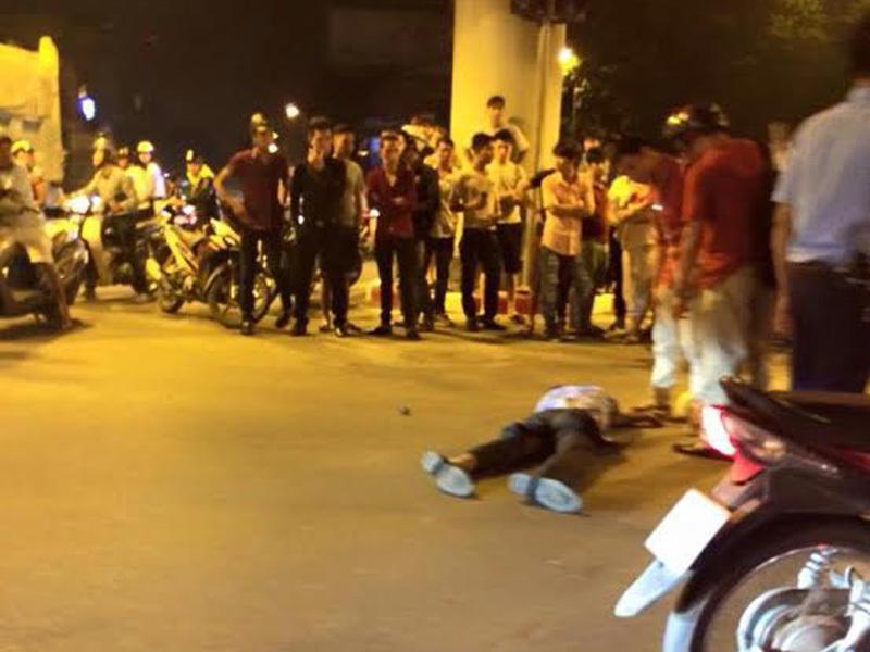 tai nạn, thái hà, taxi, bệnh viện, bị thương