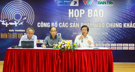20/11 sẽ Công bố giải thưởng Nhân tài Đất Việt 2015