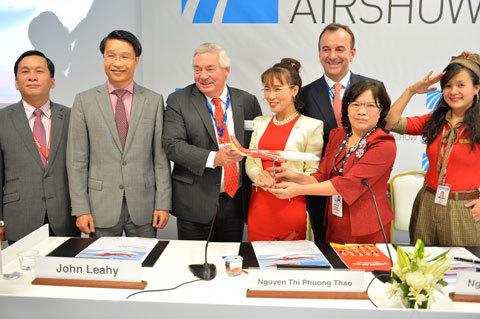 Vietjet đặt mua thêm 30 tàu bay A321 mới