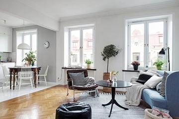 Cải tạo căn hộ cũ 45m2 trở nên thoáng mát, rộng rãi