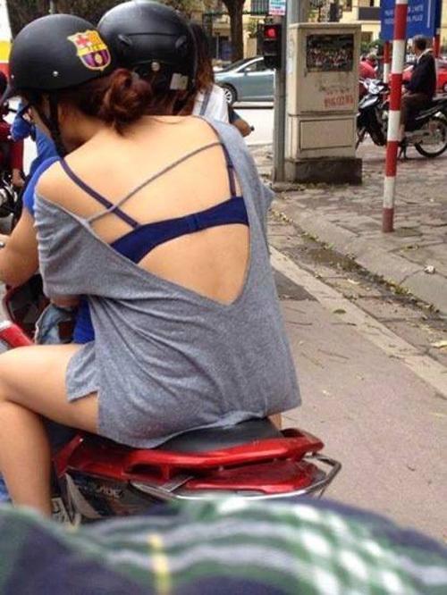 thời trang táo bạo, thiếu nữ Hà thành,