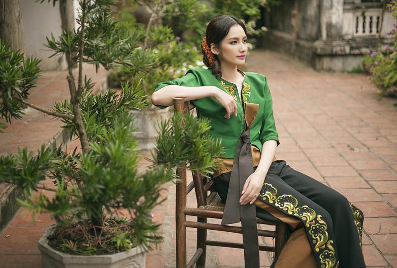 Hoa hậu Trúc Diễm đẹp thuần Việt